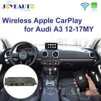 Joyeauto WIFI sans fil Apple Carplay voiture jeu rénovation A3 MMI 3G Plus 2012-2017 pour Audi Android miroir Support caméra inversée