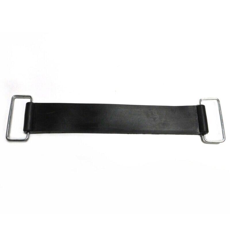 2xlot Motorcycle Rubber Belts Battery Strap Holder Set For