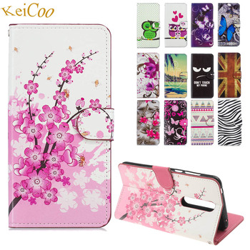 Book Flip Cover On For Nokia 3.1 Plus 16GB 32GB PU Leather Cases For Nokia 3.1Plus Global Case Wallet Full Housing Print Pattern