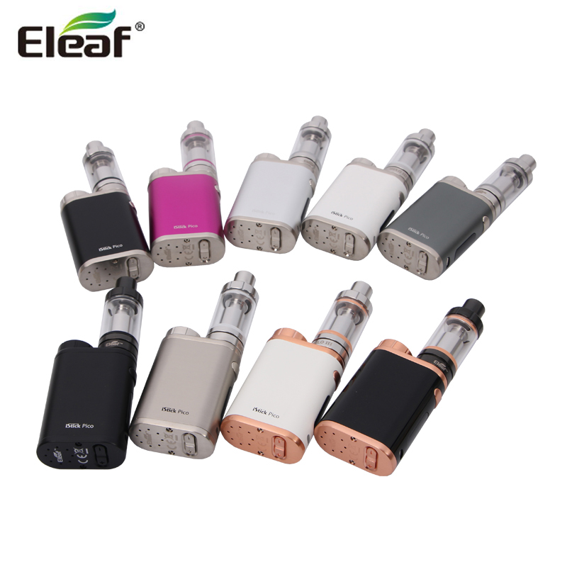 100% Original Eleaf iStick Pico 75W with Melo 3 mini and melo 3 tank Upgradeable Firmware Function iStick Pico Mod
