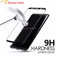 iBroken For Samsung Galaxy S7 Edge S8 Plus 3D Curved Surface Full Screen Film Explosion-proof Tempered Glass Screen Protector