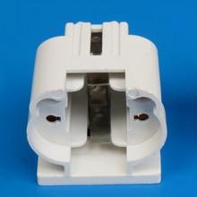 10 unidades/lote de portalámparas G23, casquillo de lámpara G23, Base de lámpara de mesa de ahorro de energía, accesorios de iluminación