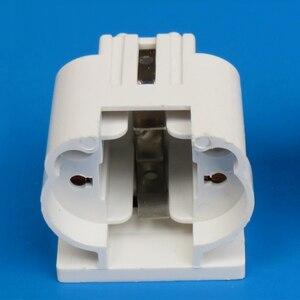 Image 1 - 10pcs/lot G23 Lamp Holder G23 Lamp Socket G23 Energy Saving Table Lamp Base Lighting Accessories