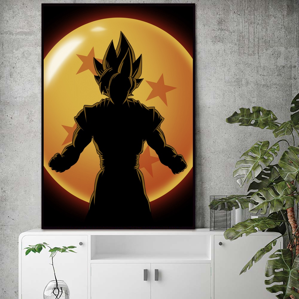 Looking For The Dragon Ball Z Wall Art Paint Wall Decor Canvas Prints Canvas Art Poster Oil Paintings No Frame In Painting Calligraphy From Home