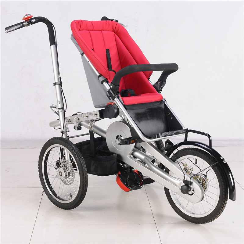 0-3 Years Baby Bike Red Baby Stroller Load 100kg Mother Baby Bicycle Three Wheels Trolley 3 in 1 Prams Pushchair children ride on toys balance bike three wheels tricycle for kid bicycle baby walker for 1 to 3 years old child best gift