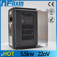 CE 5.5kw 220v AC Frequency Inverter & Converter Output 3 Phase ac motor water pump controller /ac drives /frequency converter