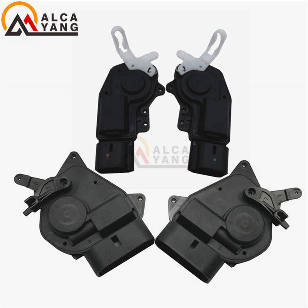 Set(4) Power Door Lock Actuator Front left Right & Rear left Right For Toyota RAV4 2001-2005 69120-42080 69110-42120 69140-12070 front right