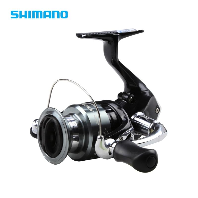 Shimano Sienna FE 1000 2500 4000 Spinning Fishing Reel 5.0:1/5.2:1 1+1BB Front Drag XGT7 Body Saltwater Carp Fishing Reel