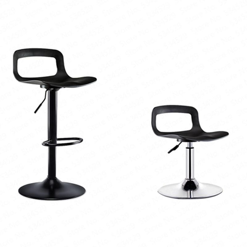 2Bar Chair Lift Home Restaurant High Stool Beauty Tattoo Stool Creative Modern Minimalist Bar Stool