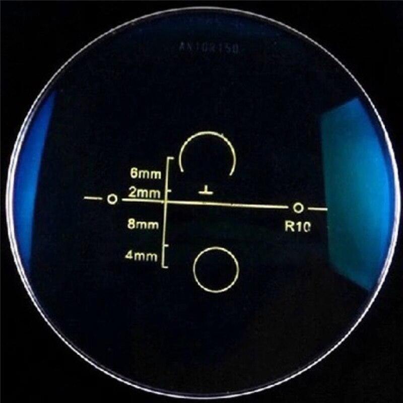 1,56 прогрессивные многофокусные линзы с защитой от синего света, двойные линзы из смолы против усталости и близорукости, оптические линзы дл...