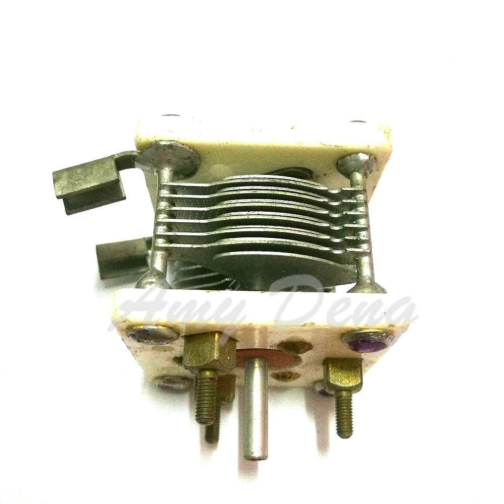 HOT SALE] Double disassemble variable capacitor with gearbox