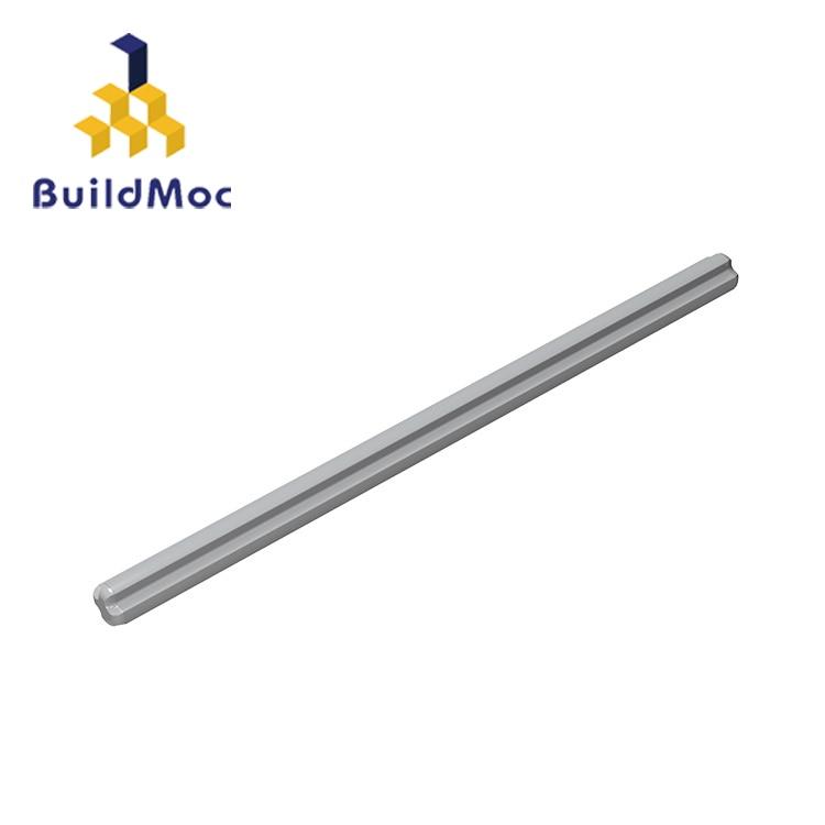 BuildMOC, совместимые сборы, частицы 3737, 1x10 для строительных блоков, детали «сделай сам», образовательные детали, игрушки