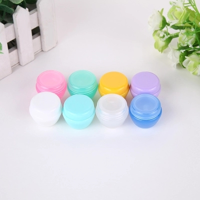 1000pcs/lot 5G 10G 20G Cream Jar Cosmetic Container Empty Eyeshadow Makeup Face Cream Lip Balm Pot Beauty Refillable Bottles-in Refillable Bottles from Beauty & Health    1