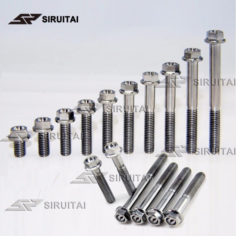 Titanium M6 Bolts ~ Socket Cap Allen Head ~ 10//15//20//25//30//35//40//45//50mm