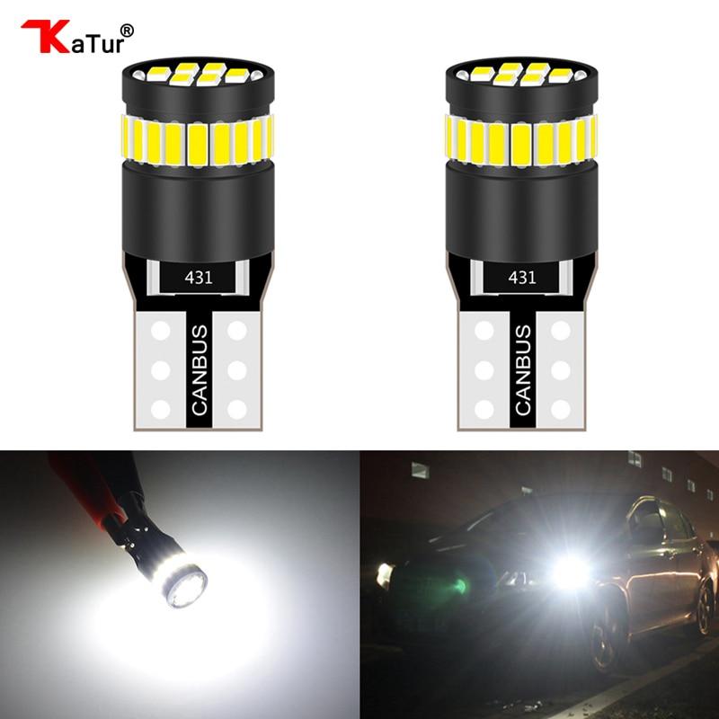 X2 GREEN LED BULB T10 SIDE LIGHT REPLACE W5W 5W LED UPGRADE BULBS 5W LED T10