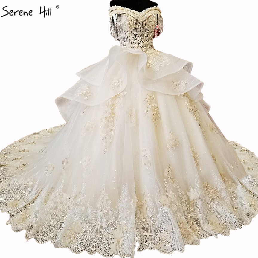 Anna Campbell 2019 Wedding Dresses: New High End Luxury Lace Train Wedding Dresses 2019