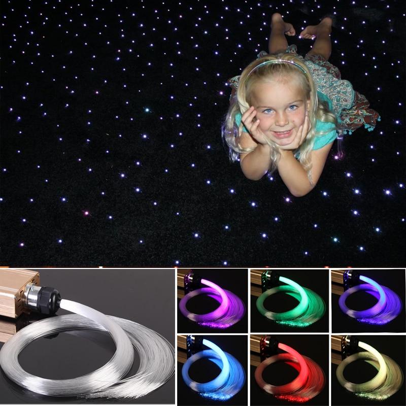led light sensory toys fiber optic carpet rugs lights for kids educational training
