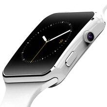 Lujo Hombres Mujeres Sport HD Pantalla Bluetooth Reloj Inteligente Recordar Podómetro Del Ritmo Cardíaco Smartwatch Para Android Samsung Smartphone