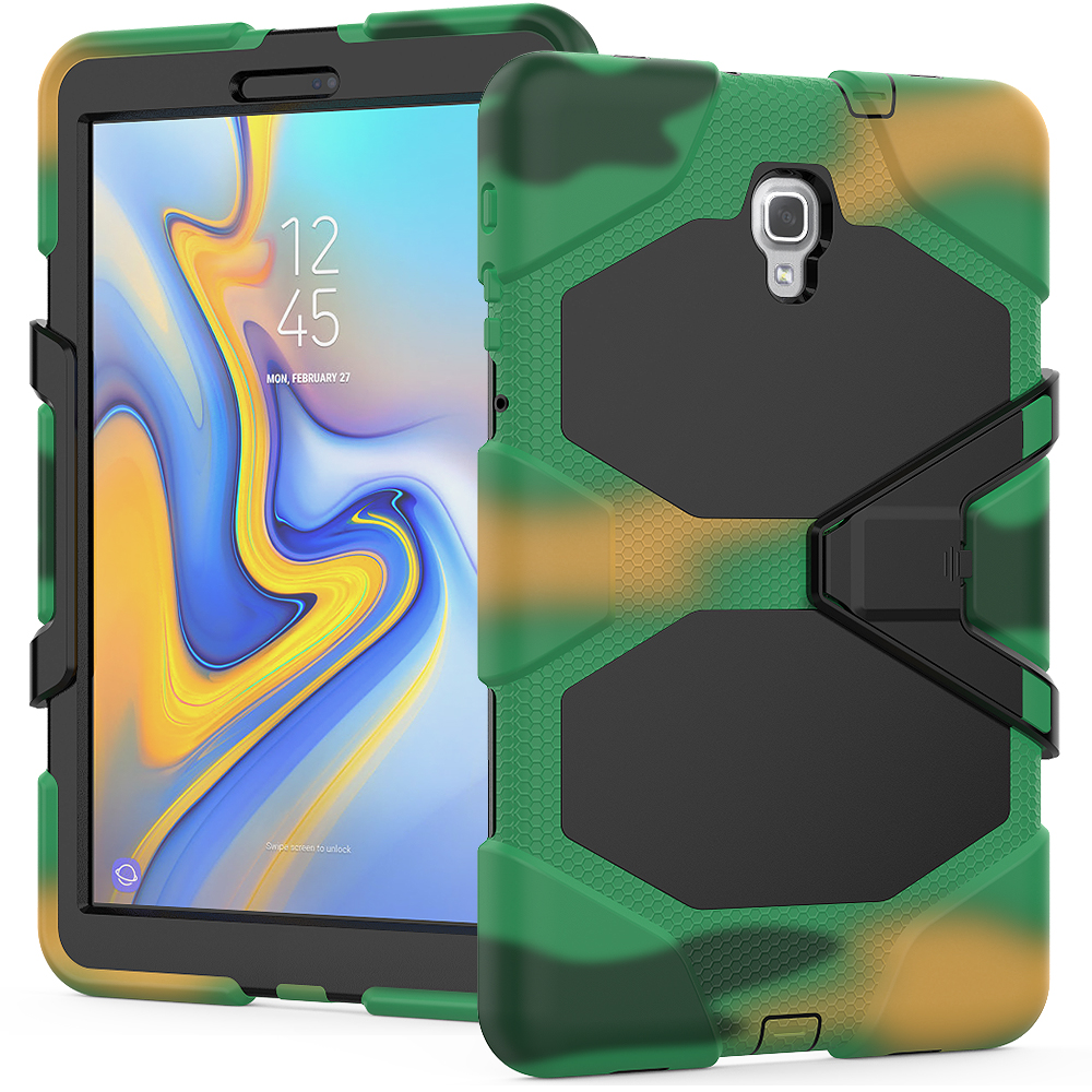 Kids Children Safe Anti-Fall Silicon + PC Combo Tablet Cover Case For Samsung Galaxy Tab A A2 10.5