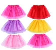 Free Shipping 2 7 Years Lovely Fluffy Chiffon Baby Girls Tutu Skirts Children Skirt Princess Dance