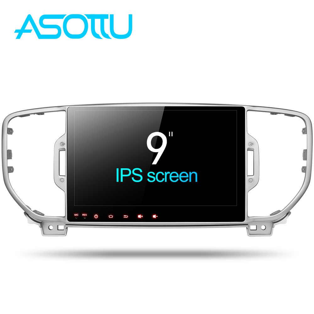 Asottu CKX59060 IPS android オクタコア車 kia の sportage の 2016 2017 KX5 gps ナビゲーション 1 喧騒車ステレオヘッドユニット