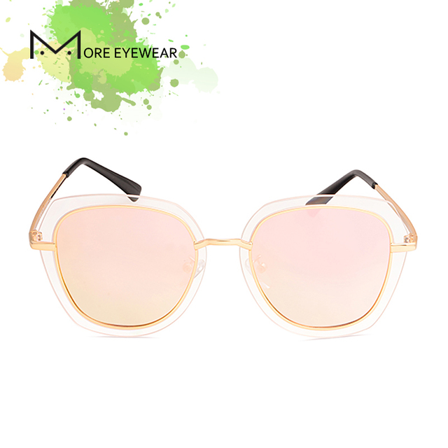 7e946537b2 2018 DADO New Fashion Oversized Sunglasses For Women Cat Eye With Polarized  Mirror Lens Female UV400 Protection