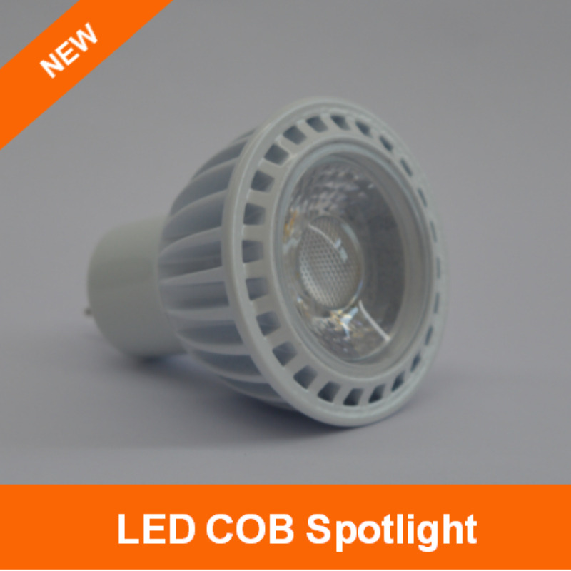 2016 New GU5.3 5W LED lampe COB Spotlight with Lens Warm/Cool White ...