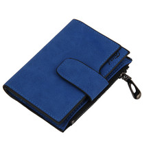 Women Bag Mini Grind Magic Bifold Leather Card Holder Purse womens wallets and purses billeteras para mujer monederos clip