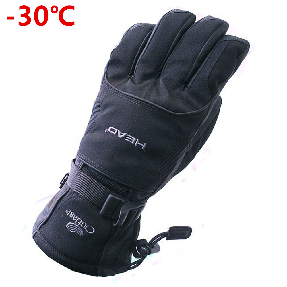 2017 New Winter Men's Gloves Snowboard Gloves Snowmobile Motorcycle Riding Gloves Windproof Waterproof Unisex Snow Gloves