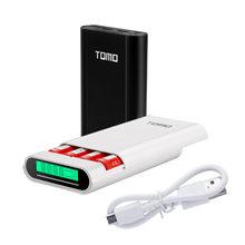 Умное зарядное устройство TOMO M4, чехол для внешнего аккумулятора 4X18650, литий-ионная батарея, портативный внешний аккумулятор «сделай сам», за...