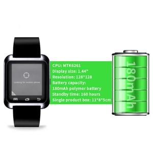 Image 5 - جديد ساعة ذكية بلوتوث الرياضة ساعة ذكية U8 آيفون IOS هاتف أندرويد ذكي ارتداء ساعة يمكن ارتداؤها جهاز Smartwach GT08 DZ09