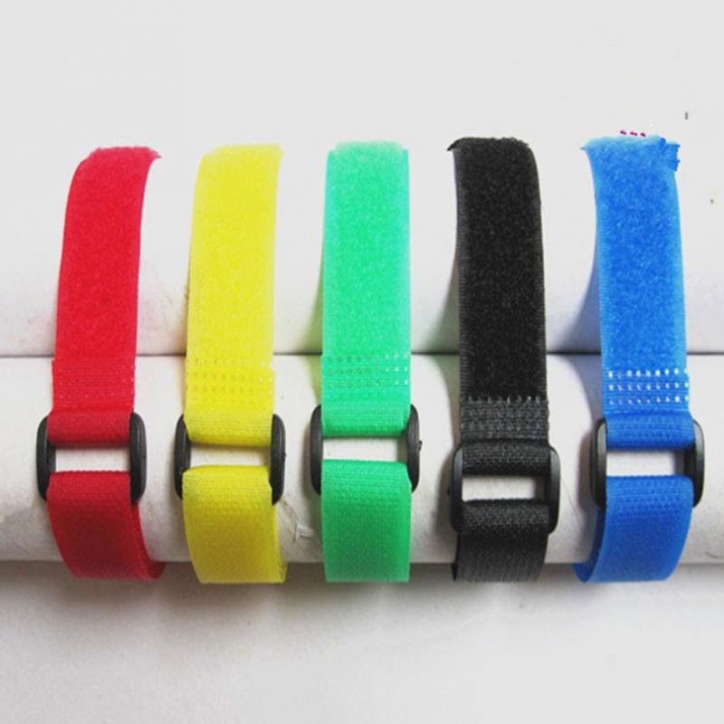 Bicycle Strap Magic Sticker Adjustable Fixing Tape Band Tie Front Fork Accessory