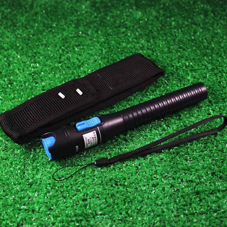 imágenes para Plásticos Luz de Láser Rojo de 1 MW Visual Fault Locator Fiber Optic Cable Tester Checker medidor de potencia óptica de fibra óptica herramientas