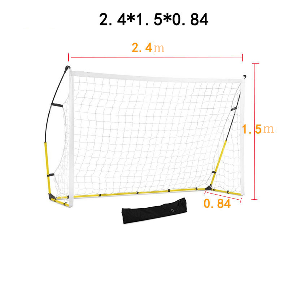 2019 Новая Складная портативная с футбольной целью футбольная тренировочная сетка для детей для взрослых Открытый тренировочный инструмент s m l Бесплатная DHL - 5