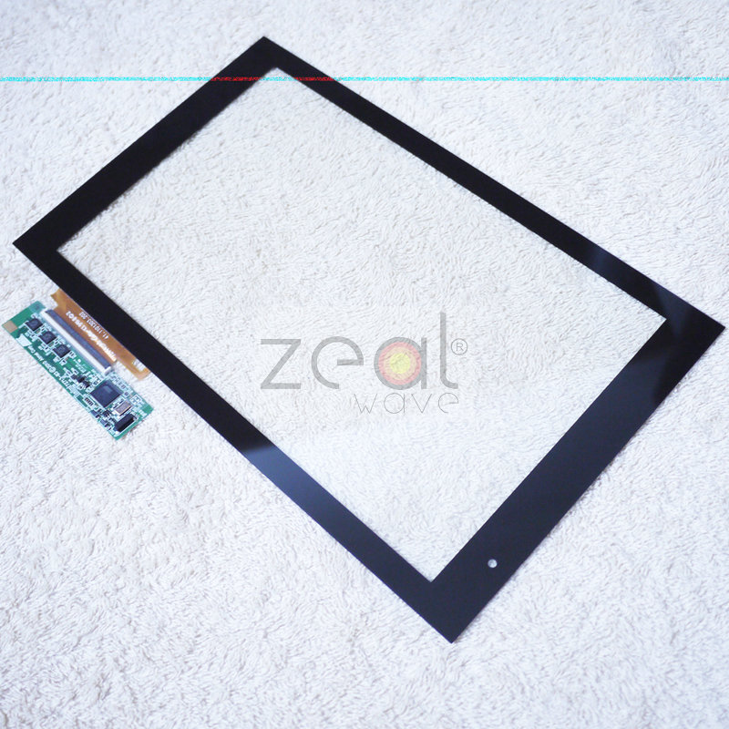 10.1 Touch Screen Digitizer With Board  For Acer Iconia Tab A500 Tablet PC original new 10 1 tablet pc for acer iconia tab a500 a501 touch screen digitizer panel parts replacement with free shipping