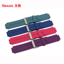 GARMIN Gummi Uhrenarmbänder, 24*15 MM Hohe Qualität Uhren, mann frauen Naturkautschuk uhrenarmbänder für vivoactive smartwatch