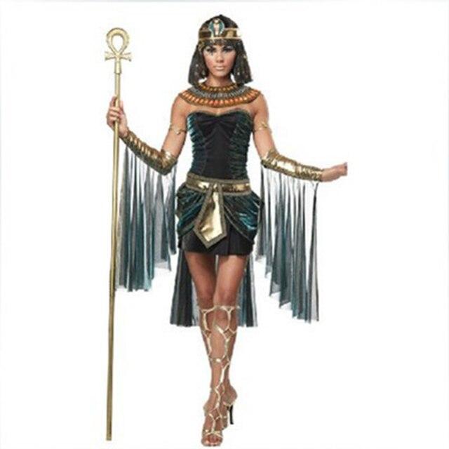 201255634417 Medievale Cleopatra Costumi Principessa Adulti Delle Donne di Fantasia  Cosplay di Carnevale di Halloween Costumi Rinascimentali