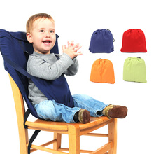 GT Colorful Baby Portable Seat Kids Dining Lunch Chair Infant Feeding Safety Seats Washable Children Feeding High Chair Harness