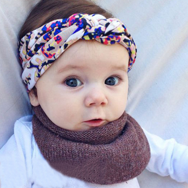 Baby Girl Elastic Bands Floral Headband Child Accessories Baby Hair