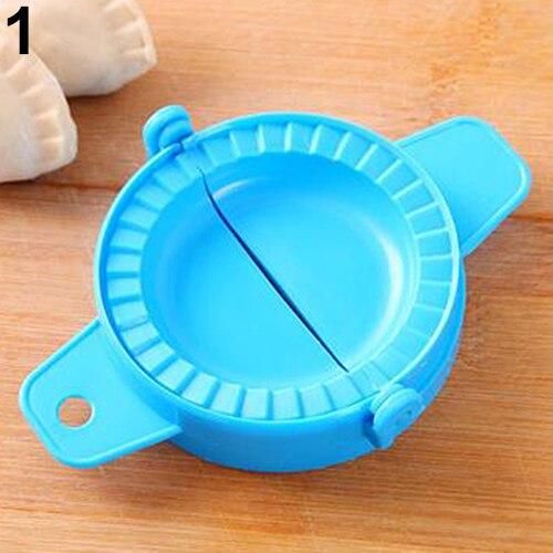 12pcs Azul DIY Molde Dough Imprensa Bolinho Pie Ravioli de Carne Cozinha Gadget Ferramenta Fabricante de Moldes
