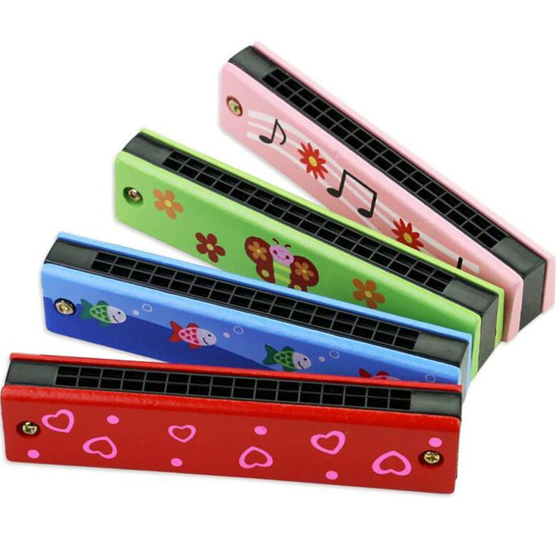 16 Hole Kids Boys Girls Harmonica Music Instrument for young Children