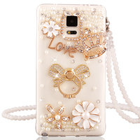 Luxury rhinestone Silicone case cover for samsung galaxy S4 S IV i9500 i9508 case protective back cover thin soft diamond case