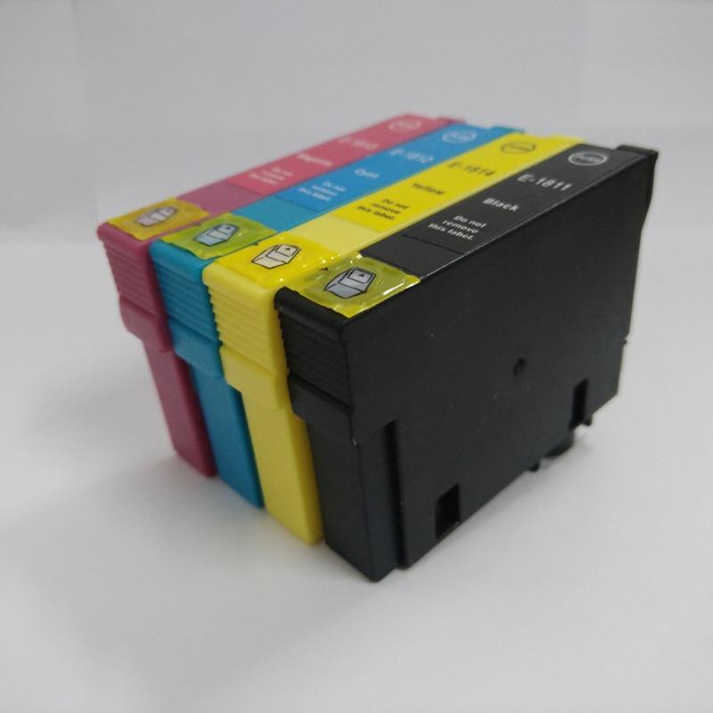 5Pcs T1811 - T1814 сия картриджі үшін EPSON XP212 - Кеңсе электроника - фото 2