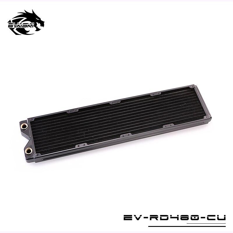 Bykski EVO EV-RD480-CU см 480 мм 4x12 см медь радиатор водяного охлаждения