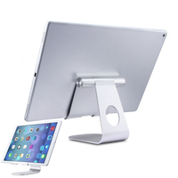 Universal Aluminum Tablet PC Stand Metal Bracket Holder For IPad IPhone Samsung Tablet