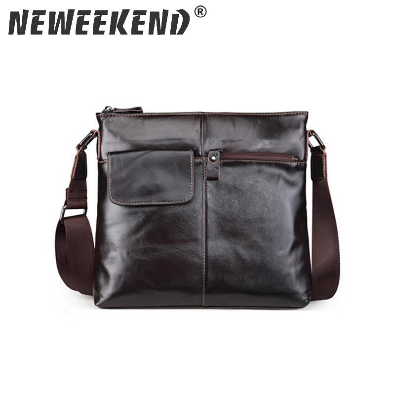 Genuine Leather Men Messenger Bag Hot Sale Male Small Man Fashion Crossbody Shoulder Bags Men's Travel New Handbags SF042 zznick genuine leather male bag casual men messenger bag hot sale small man crossbody shoulder bags men s travel new handbags
