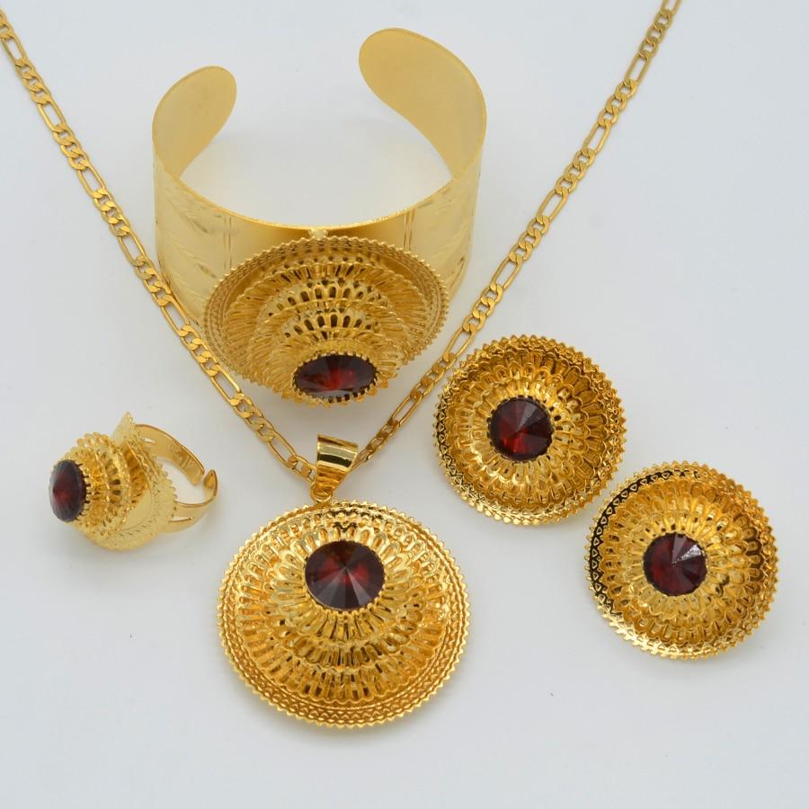 Aliexpress.com : Buy Anniyo Ethiopian Jewelry Set Gold