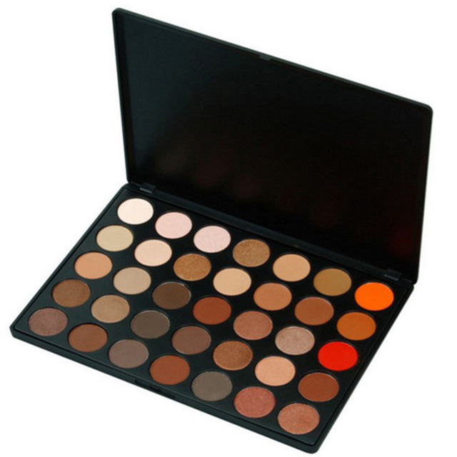35 Color Women Girl Eyeshadow Palette Warm Matte Makeup Set Smoky Eye-shadow Cosmetics Makeup Kits Brand New