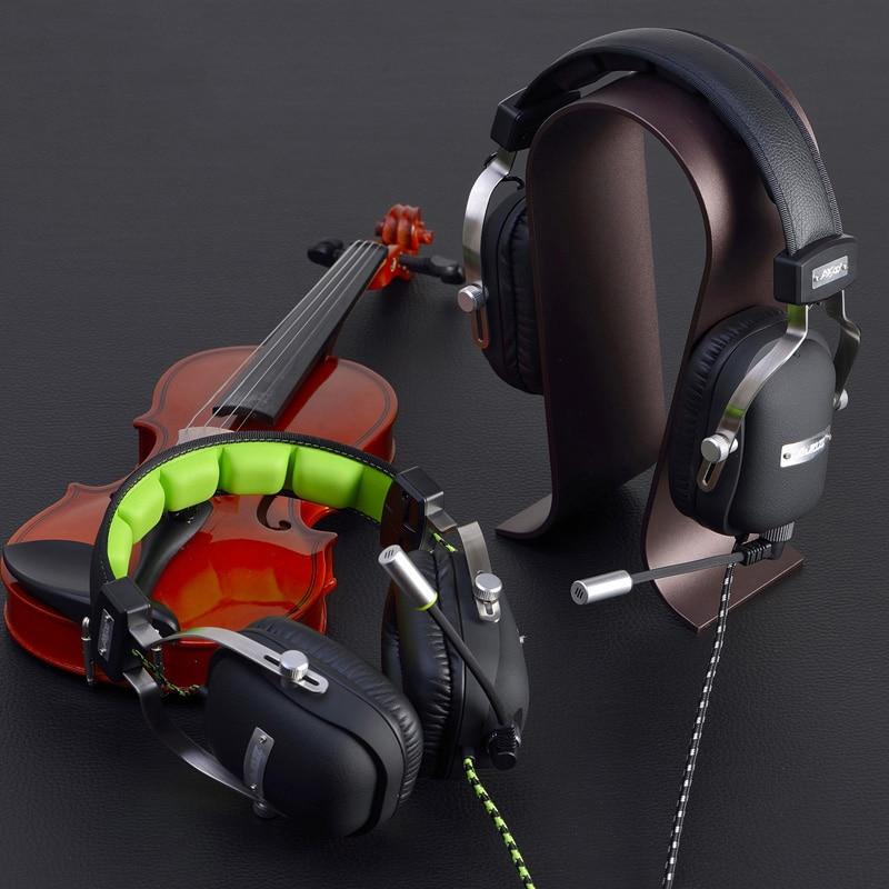 bilder für Stirnband Computer Gaming Headset mit HD Mikrofon für PC Stereo Big Kopfhörer Bass Universal Verdrahteten Subwoofer Kopfhörer