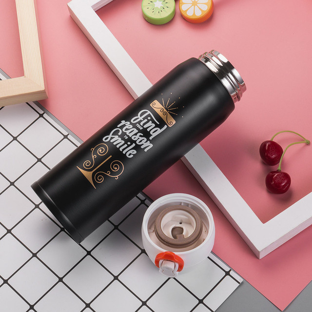 Travel Hydro Flask with Coffee Cup